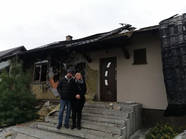 PILNE!!! Potrzebna pomoc dla Mariusza ze Śremu! Stracił dom w pożarze